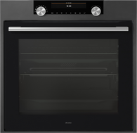 ASKO 60CM BLACK CRAFT OVEN - AQUA CLEAN - OT8687A