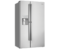 WESTINGHOUSE 680L STAINLESS STEEL SIDE BY SIDE FRIDGE - WSE6870SA