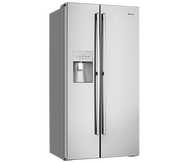 WESTINGHOUSE 610L S/S SIDE BY SIDE FRIDGE - ICE AND WATER - WSE6170SA