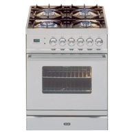 ILVE 60CM DUAL FUEL FREESTANDING OVEN - PW60MP