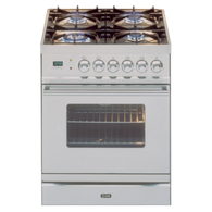 ILVE 60CM FREESTANDING GAS OVEN - PW60VG