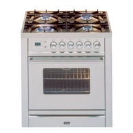 ILVE 70CM FREESTANDING GAS OVEN - PW70VG