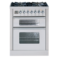 ILVE 70CM DUAL FUEL FREESTANDING OVEN WITH GRILL - PDW70MP