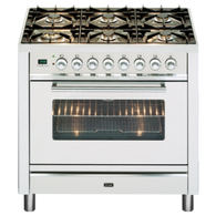 ILVE 90CM FREESTANDING GAS OVEN - PW906VG