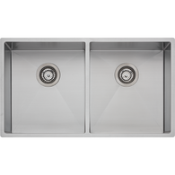 OLIVERI SPECTRA STAINLESS STEEL DOUBLE BOWL SINK - SB63SS
