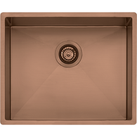 OLIVERI SPECTRA 500MM COPPER SINGLE BOWL SINK - SB50CU