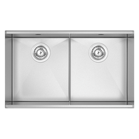 ABEY PIAZZA PLUS DOUBLE BOWL SINK - PZ340D