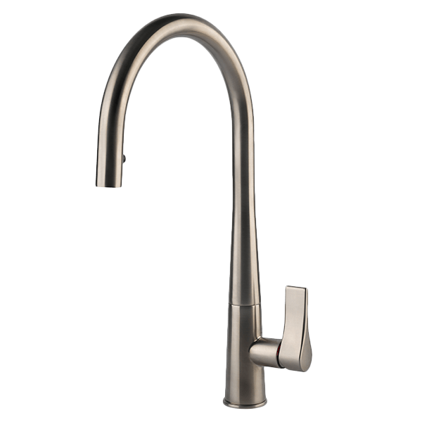 GESSI EMPORIO CONCEALED PULLOUT TAP - BRUSHED NICKEL - 17153BN