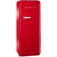 ARTUSI 251L RETRO FRIDGE/FREEZER - RED - ARET330R