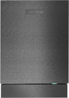 ASKO BUILT IN BLACK STEEL DISHWASHER - TURBO DRY - DBI653IBBS