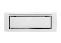 SCHWEIGEN.IN 90CM SILENT WHITE GLASS CONCEALED RANGEHOOD - KLS-9GLASS