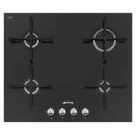 SMEG 60CM LINEA GAS/CERAMIC COOKTOP - PV164C + Colour