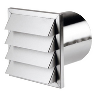BORA EXTERNAL STAINLESS STEEL BLIND FLAT DUCT - HEJALFLOW