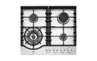 ELECTROLUX 60CM STAINLESS STEEL 4 BURNER GAS COOKTOP - EHG645SD