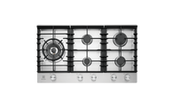 ELECTROLUX 90CM STAINLESS STEEL 5 BURNER GAS COOKTOP - EHG955SD