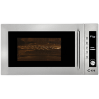 ILVE 31L MICROWAVE WITH GRILL - 900W - IVFSM34X