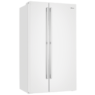 WESTINGHOUSE 690L WHITE SIDE BY SIDE FRIDGE - ICE AND WATER - WSE6900WA