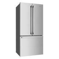 WESTINGHOUSE 605L STAINLESS STEEL FRENCH DOOR FRIDGE - WHE6000SA