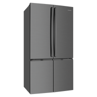 WESTINGHOUSE 600L DARK STAINLESS STEEL 4 DOOR FRENCH DOOR FRIDGE - WQE6000BA