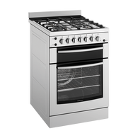 WESTINGHOUSE 60CM STAINLESS STEEL GAS HOB FREESTANDING OVEN - WFG617SA