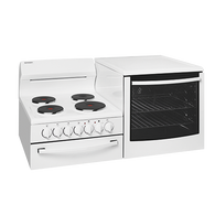 WESTINGHOUSE ELEVATED ELECTRIC FREESTANDING COOKER 4 ZONE OVEN - WDE147WA