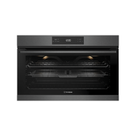 WESTINGHOUSE 90CM DARK STAINLESS STEEL PYROLYTIC MULTIFUNCTION OVEN WITH AIRFRYER - WVEP917DSC
