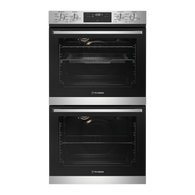 WESTINGHOUSE 60CM STAINLESS STEEL MULTI-FUNCTION 8/8 DOUBLE OVEN WITH AIRFRY - WVE636SC