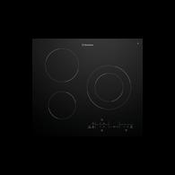 WESTINGHOUSE 60CM BLACK CERAMIC 3 BURNER COOKTOP - WHC633BC