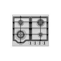 WESTINGHOUSE 60CM STAINLESS STEEL4 BURNER GAS COOKTOP - WHG644SC