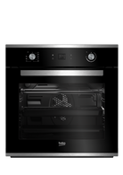BEKO 60CM STAINLESS STEEL PYROLITIC BUILT-IN OVEN - BBO60S1PB