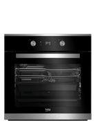 BEKO 60CM STAINLESS STEEL BUILT-IN OVEN - BBO60S1MB