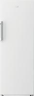 BEKO WHITE SINGLE DOOR FRIDGE - BAF369W