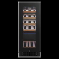 VINTEC 20 BOTTLE BLACK WINE CABINET - VWS020SBB-X