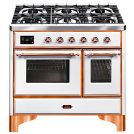 ILVE 100CM MAJESTIC SERIES 6 BURNER FREESTANDING COOKER - MD106DNE3