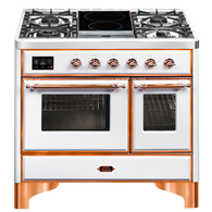 ILVE 100CM MAJESTIC SERIES 4 BURNER & DUAL ZONE INDUCTION FREESTANDING COOKER - MD10IDNE3