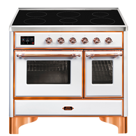 ILVE 100CM MAJESTIC SERIES 6 ZONE INDUCTION FREESTANDING COOKER - MDI10NE3