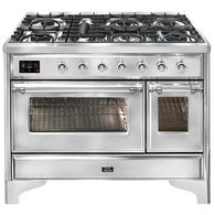 ILVE 120CM MAJESTIC SERIES 7 BURNER FREESTANDING COOKER - M127DNE3