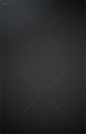 BORA CLASSIC 2.0 BLACK CERAMIC INDUCTION 2 ZONE COOKTOP - CKI