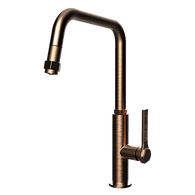 ABEY GESSI OFFICINE PULLOUT TAP - COPPER BRUSHED - 60053COB