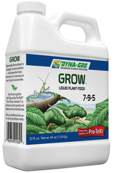"Dyna-Gro ""Grow"" 7-9-5 Quart Size (32 oz)"