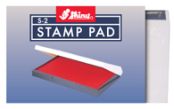 View of Cool School Studios Small Rubber Stamp Pad (PAD1).
