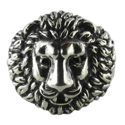 Unleash The Beast Within- Detailed Lion-Head Ring in Sterling Silver