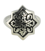 Sterling Silver Irish Celtic Weave Ring