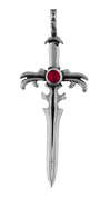 NEW - Sterling Silver Arthurian Sword Pendant
