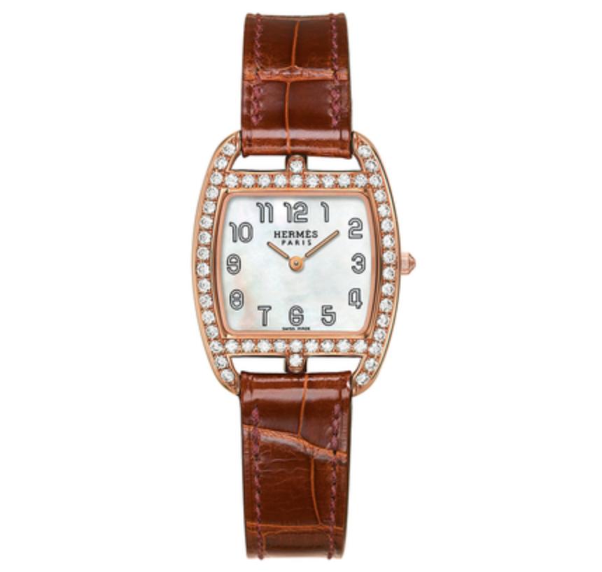 Hermes Tonneau shape women's watch