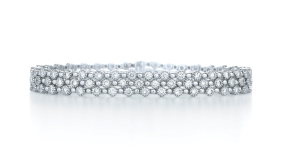 Kwiat Diamond Bracelet 3 row stardust collection