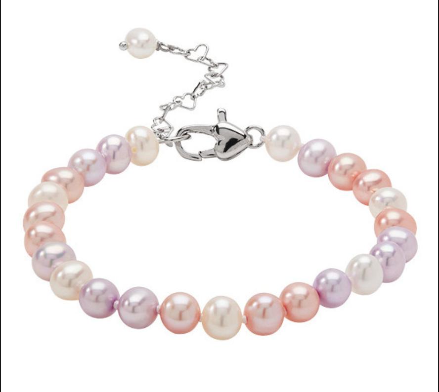 Honora Girls Pearl Multicolored bracelets