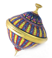 Staffordshire Spinning Top
