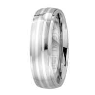 Scott Kay Unity Sterling Silver Wedding Band Two Stripes