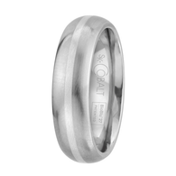 Scott Kay Unity Sterling Silver Wedding Band One Stripe